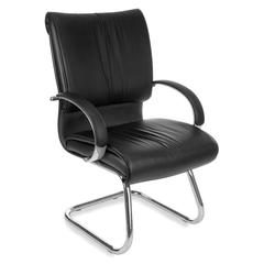 Sharp Series Leather Guest Chair
