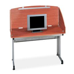 "Modular Study Carrel 24"" x 48"", Cherry"