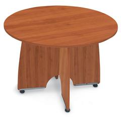 OFM 43 Round Conference Table, Cherry