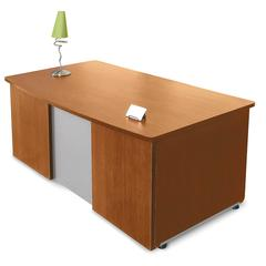 "Venice Series Executive Desk 36"" x 72"", Cherry"