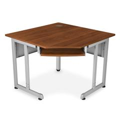 RiZe Panel System 5-Sided Corner Table 30 x 30, Cherry