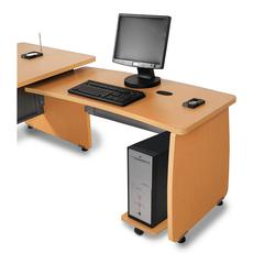 Milano Series Executive Desk Return for Model 55501, Maple
