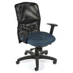 OFM AirFlo Series Mesh Task Chair, Blue
