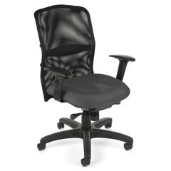 AirFlo Series Mesh Task Chair, Gray