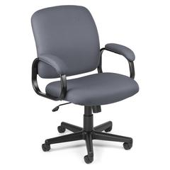 Value Series Executive Low-Back Task Chair, Gray