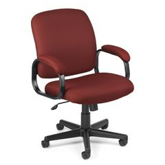 Value Series Executive Low-Back Task Chair, Wine