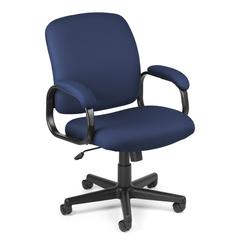 Value Series Executive Low-Back Task Chair, Navy