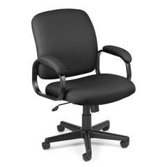 OFM Value Series Executive Low-Back Task Chair, Black