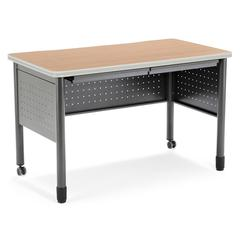 "Mesa Series Training Table/Desk with Drawers 27.75"" x 47.25"", Maple"