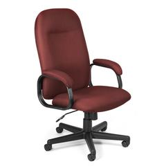 OFM Value Series Executive High-Back Task Chair, Wine