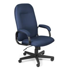 OFM Value Series Executive High-Back Task Chair, Navy