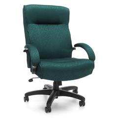 OFM Big & Tall Executive High-Back Chair, Teal