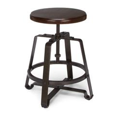 Endure Series Small Stool, Walnut