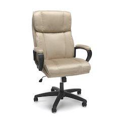 Plush High Back Microfiber Office Chair, Tan