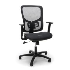 OFM Core Collection Model ESS-3055 Essentials Collection Mesh Seat Ergonomic Office Chair with Arms and Lumbar Support