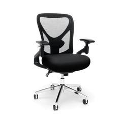OFM Stratus Series Model 257 24-Hour Big & Tall High-Back Mesh Chair, Black