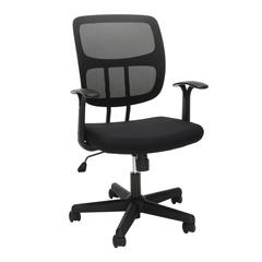 OFM Essentials Series Mesh Office Chair, in Black (ESS-3003)