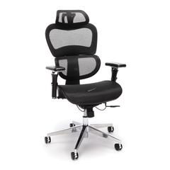 OFM Core Collection Ergo Office Chair featuring Mesh Back and Seat with Head Rest, in Black (540-BLK)