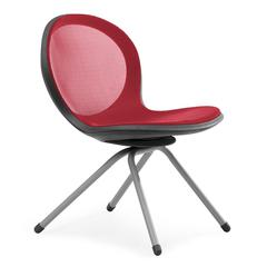 OFM NET Series 4-Legged Chair, Red