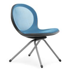 NET Series 4-Legged Chair, Blue