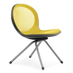 OFM NET Series 4-Legged Chair, Yellow