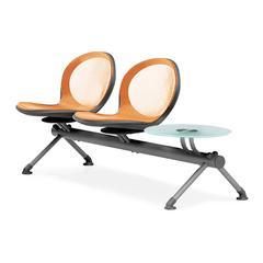 NET Series 2 Seats & 1 Table Beam, Orange