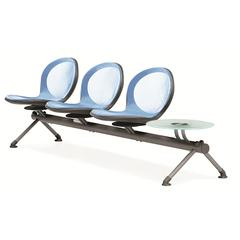 NET Series 3 Seats & 1 Table Beam, Blue
