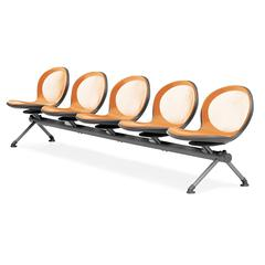 OFM NET Series 5 Seat Beam, Orange