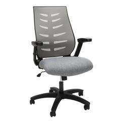 OFM Model 530-GRY Core Collection Midback Mesh Office Chair for Computer Desk, Gray
