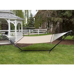 Poolside Hammock - Double (Taupe)
