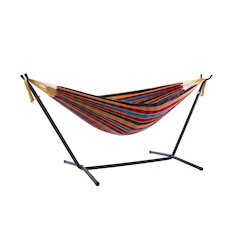 Vivere's Combo - Double Paradise Hammock with Stand (9ft)