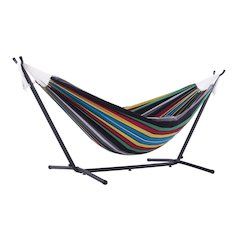 Vivere's Combo - Double Rio Night Hammock with Stand (9ft)