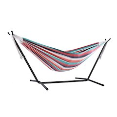 Vivere's Combo - Double Plumeria Hammock with Stand (9ft)