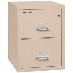 "2 Drawer Letter Size Filling Cabinet,  25"" depth, Champagne"