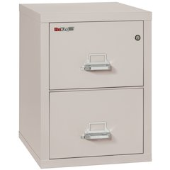 "2 Drawer Letter Size Filling Cabinet,  25"" depth, Platinum"