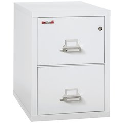 "Vertical File Cabinet, 2 Drawer Letter 31 1/2"" depth, Arctic White"