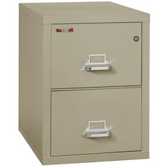 "Vertical File Cabinet, 2 Drawer Legal  31 1/2"" depth, Pewter"