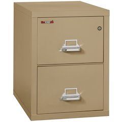 "Vertical File Cabinet, 2 Drawer Legal  31 1/2"" depth, Sand"