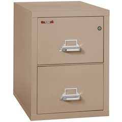 "Vertical File Cabinet, 2 Drawer Legal  31 1/2"" depth, Taupe"