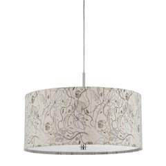 "8.25"" Inch Tall Pendant Fixture in Floral"