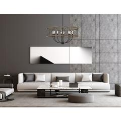 40W X 8 Modica Metal Pendant Fixture (Edison Bulbs Not Included)