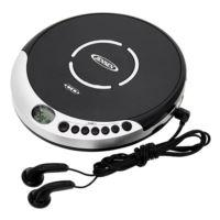Portable CD Player with Bass Boost and FM Receiver