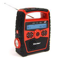 Portable AM/FM Weather Band Radio with Clock and S.A.M.E. Weather Alert