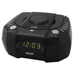 Top Loading AM/FM PLL Stereo CD Dual Alarm Clock Radio
