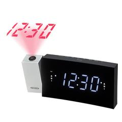 Digital Dual Alarm Projection Clock Radio