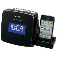 Universal iPod/iPhone Docking AM/FM Stereo Clock Radio