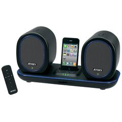 Jensen Docking Digital Music System with Wireless Speakers