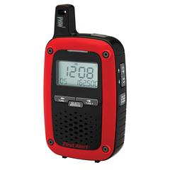 Portable AM/FM Digital Weather Radio with S.A.M.E. Weather Alert