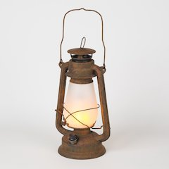 Flaming Lights Antique LED Lantern