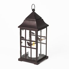 Birdhouse LED Lantern